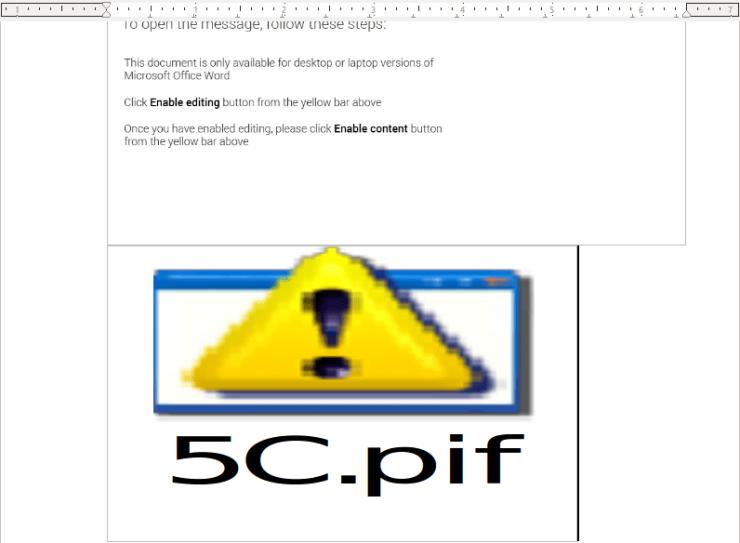分析一个用于传播Hancitor恶意软件的Word文档(第一部分)