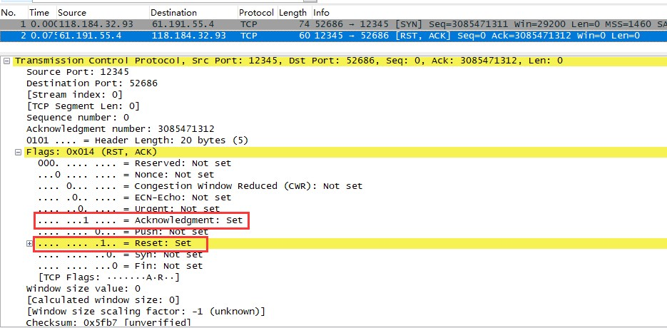 MOTS攻击之TCP攻击